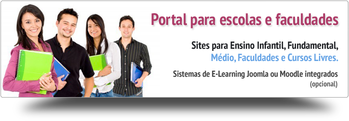Portais e sites para escolas